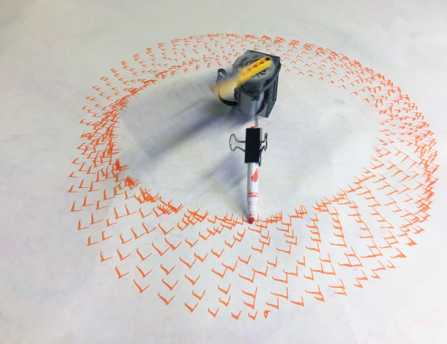 LEGO Art Machines